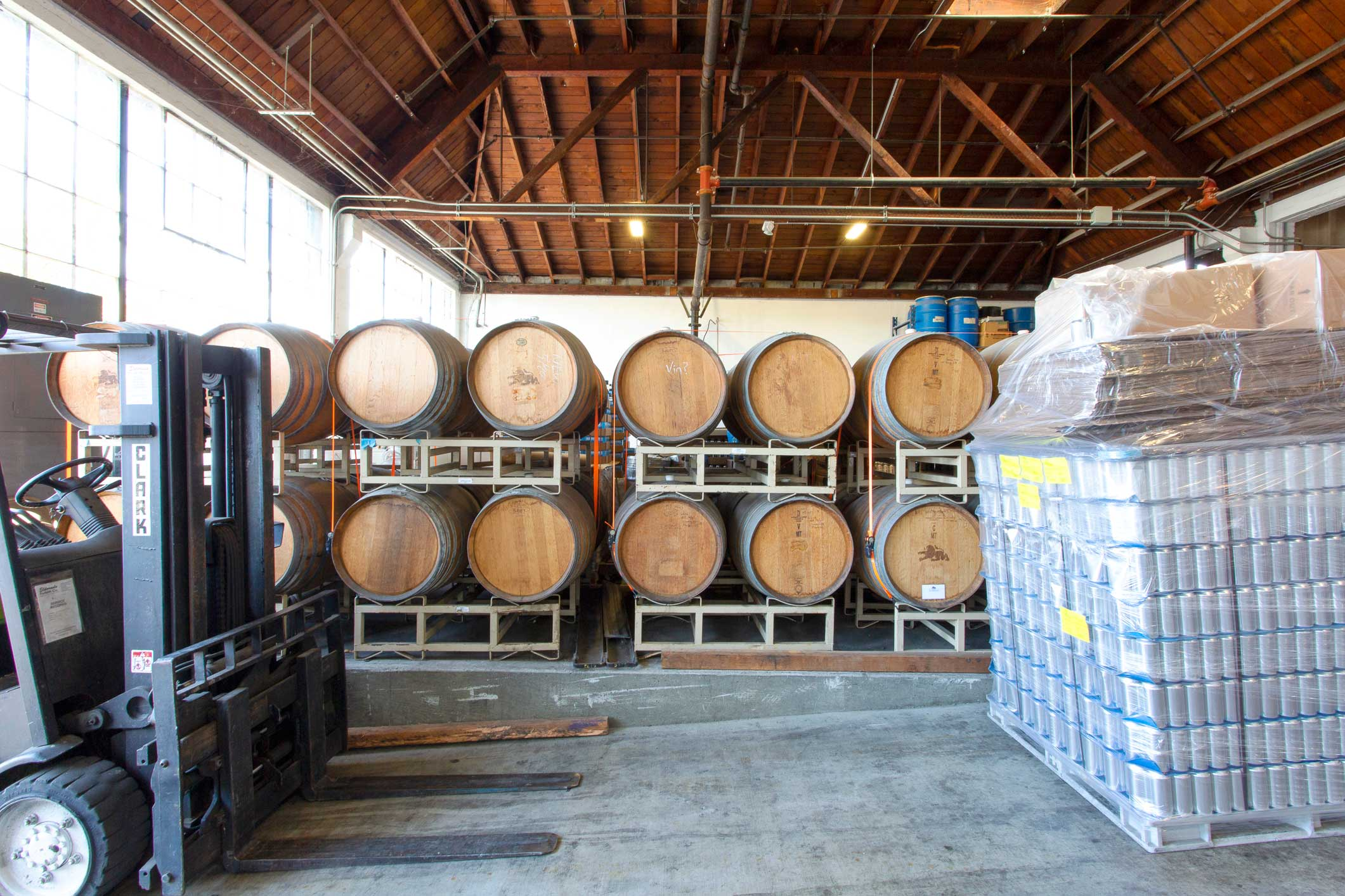 brewery-barrels